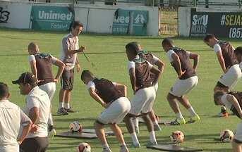 Ceará se prepara para jogo contra o Tiradentes - Confira as novidades do Alvinegro