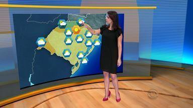 Tempo seco predomina no RS neste domingo de carnaval (7) - Norte e Noreste têm chance de instabilidade.