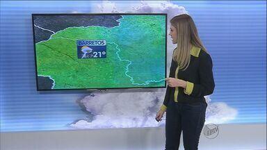 Veja a previsão do tempo na região de Ribeirão Preto, SP - Carnaval continua com tempo instável.
