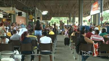 Aumenta o fluxo de passageiros nos terminais de São Luís - Muita gente aproveitou para viajar em busca da folia, ou do descanso, no interior do Maranhão.