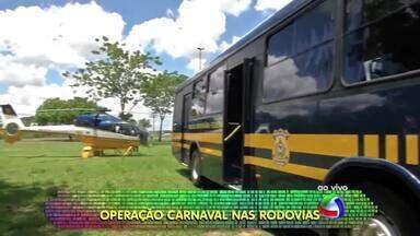 PRF monta megaestrutura para garantir a segurança nas rodovias de MT no carnaval - PRF monta megaestrutura para garantir a segurança nas rodovias de MT no carnaval