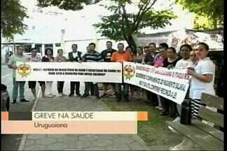 Parte dos salários dos funcionários da Santa Casa são pagos, mas greve é mantida no RS - Assista ao vídeo.