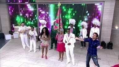 'Encontro' recebe integrantes da Mangueira, escola campeã do Carnaval carioca - Crianças da Mangueira do Amanhã afirmam que sonharam com título da escola