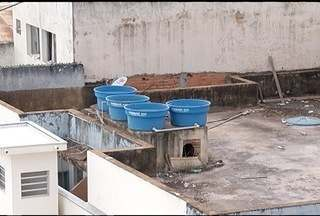 Caixas d'água sem tampas viram criadouro de mosquito da dengue em Montes Claros - CCZ está fiscalizando os imóveis.