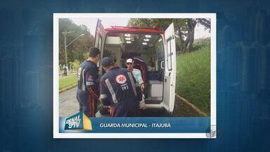 Boi foge e deixa dois feridos nas ruas de Itajubá (MG) - Boi foge e deixa dois feridos nas ruas de Itajubá (MG)