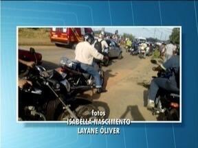 Mulher morre em acidente de motocicleta em Timóteo - Leidilene Moreira está sendo velada no Bairro Macuco.