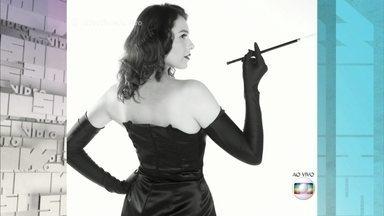 Monica Iozzi faz ensaio fotográfico para o Gshow - Otaviano Costa anuncia que é o último dia da apresentadora