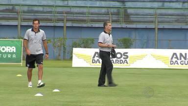 Jogadores comentam chegada de Ricardo Drubscky ao Tupi-MG - Técnico já comandou quatro treinos desde segunda-feira.