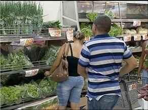 Preço de hortaliças deve manter alto até março - Preço de hortaliças deve manter alto até março