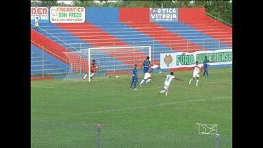Com gol de Gileard, MAC vence o Santa Quitéria - Maranhão vence e assume a liderança do grupo B na penúltima rodada da fase de classificação do primeiro turno do Campeonato Maranhense