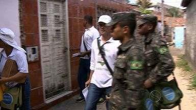 Exército realiza mutirão de combate ao mosquito da dengue - Exército realiza mutirão de combate ao mosquito da dengue