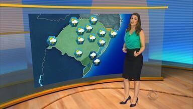 Fim de semana começa com chuva - Porto Alegre terá calor extremo durante a tarde.