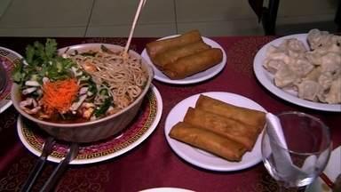 Antena Paulista visita um restaurante chinês na Liberdade - Os chineses começam a comemorar o Ano Novo. O restaurante existe há dez anos na rua da Glória. A comida chinesa é cheia de simbologia e significados.