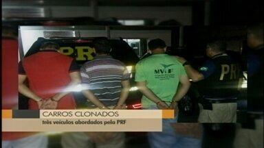 Três homens são presos com carros clonados em Rio Grande, RS - Veículos foram abordados durante operação da Polícia Rodoviária Federal.