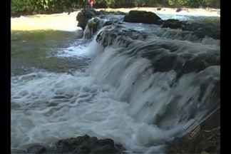 Cachoeira do Aruã é destino paradisíaco na região do Rio Arapiuns - Natureza preservada e quedas d'água são atrativos para viagem relaxante.Cachoeira está localizado a cerca de 10 horas de Santarém.