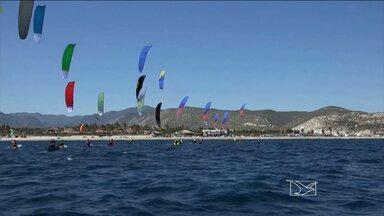 Veja a preparação de Bruno Lobo para o mundial de Kitesurf - Veja a preparação de Bruno Lobo para o mundial de Kitesurf.