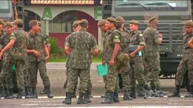 Em Imperatriz, as força armadas também se juntaram para combater o Aedes Aegypti - Em Imperatriz, as força armadas também se juntaram para combater o Aedes Aegypti.