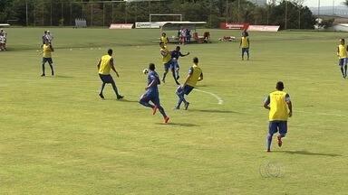 Em meio tropeços, Vila Nova se prepara para enfrentar Itumbiara pelo Goianão - Equipe conseguiu apenas uma vitória em quatro jogos e busca se reabilitar na competição.