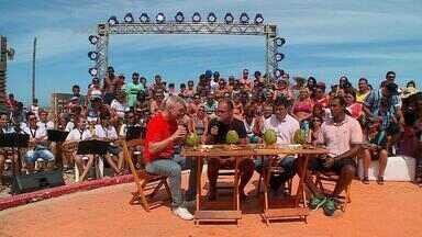 Botequim do Maurício reúne Paulo Brito, Márcio Chagas e Diogo Olivier - Gravação aconteceu em Tramandaí, na Arena Conexão Verão RBSTV.