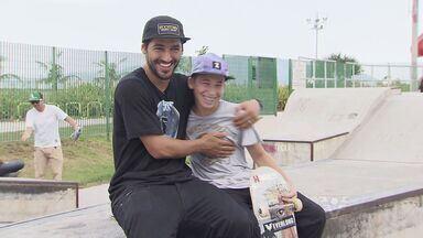Kelvin Hoefler traz competição internacional de skate para Santos - Atleta campeão do mundo no street skate, Kelvin dá detalhes do principal torneio mundial amador da modalidade.