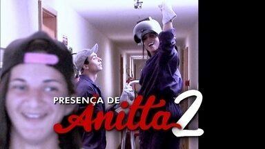 Presença de Anitta: cantora participa de pegadinha com sua fã - Nathália passa um dia com a ídola sem perceber