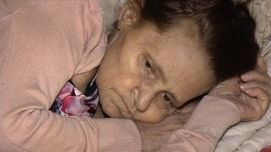 Idosa doente pede ajuda para voltar para o Acre - Ela não tem condição financeira de pagar a passagem. Idosa vive com a família da filha, que praticamente não tem dinheiro para comer.