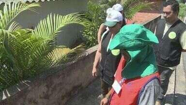 Força-tarefa orienta moradores de Cajati a acabar com larvas de mosquito - A população recebeu orientação para evitar possíveis focos de Aedes aegypti.