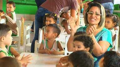 Há 37 anos, creche Seara ajuda no desenvolvimento de famílias em Santarém - O Centro Educacional João de Barro, os pais são ajudados e ajudam no trabalho que é feito de forma voluntária.
