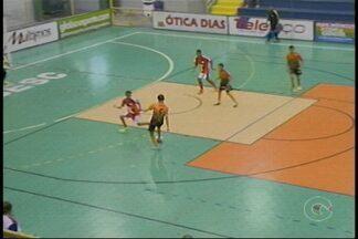 Categorias de base iniciam a semana dando show de bola na Copa TV Grande Rio de Futsal - Teve time estreante que chegou goleando