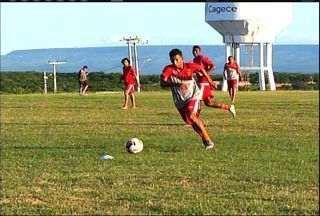 Guarani de Juazeiro apresenta reforço do futebol português - Confira a reportagem de Fabiano Rodrigues.