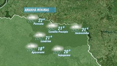 Previsão de tempo fechado nesta quarta-feira - Deve chover nos próximos dias na nossa região.