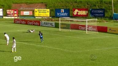 Gol de João Henrique - Aimoré 2x1 Glória - 5ª rodada - Assista ao vídeo.