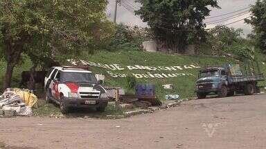 Polícia Militar realiza operação no bairro Sambaiatuba, em São Vicente - Equipes da PM queriam evitar a entrada ou saída de drogas e armas da área.