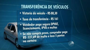 Venda de carros usados requer cuidados com documentação - Uma falha na transferência da documentação do veículo pode trazer sérias complicações ao dono. é o caso do jogador Sylvestre, que está preso no Rio de Janeiro.