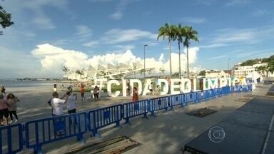 Praça Mauá recebe os preparativos para as provas do Super Salto - Atletas do Brasil e do mundo disputam o Super Salto, no domingo (28), prova que faz parte da série de competições do Verão Espetacular. O evento será na Praça Mauá.