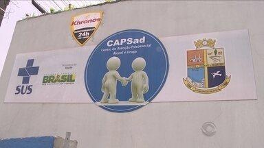 Centro segue interditado e usuários de drogas têm reuniões em local improvisado em Palhoça - Centro segue interditado e usuários de drogas têm reuniões em local improvisado em Palhoça
