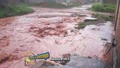 O buracão da semana é do Residencial Aricá, em Cuiabá - O buracão da semana é do residencial aricá, em Cuiabá