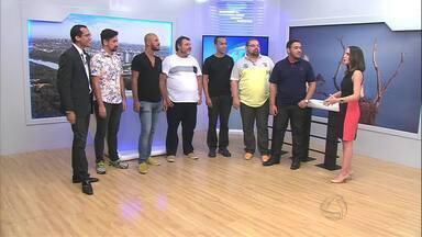 Grupo Alma de Gato se apresenta no estúdio do MTTV - Grupo fala sobre a participação em quadro do Domingão do Faustão