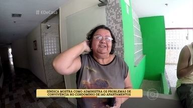 Síndica conta segredo para administrar conflitos no condomínio - Zeca Camargo conversa com Maria Auxiliadora, que é síndica de um condomínio com mais de 600 moradores. Ela revela quais são os problemas mais comuns entre os condôminos