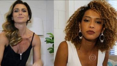Giovanna Antonelli e Taís Araújo dão dicas de combate ao Aedes aegypti - As atrizes explicam que 80% dos focos do mosquito estão dentro de casa. Dez minutos por semana são o suficiente para se prevenir.
