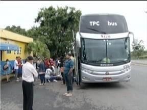 Ônibus são interceptados em rodovias do Norte de Minas - Vítimas viveram momentos de terror durante ação dos criminosos.