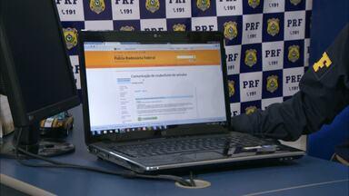 Polícia Rodoviária Federal dispõe de serviço para ajudar donos de veículos roubados - No site da PRF (www.dprf.gov.br) é possível registrar veículos roubados ou furtados por meio do Sinarf Alerta.
