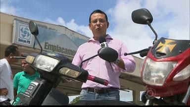 Mais de 20 mil donos de Cinquentinhas estão na mira do Detran - Amanhã é o último dia para os donos de cinquentinhas emplacarem suas motocicletas.