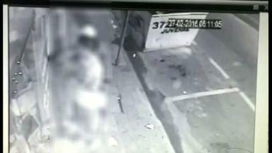Loja de eletrônicos é furtada duas vezes no mesmo dia em Colatina, ES - A loja fica no Centro do município. Os crimes foram registrados pelas câmeras de videomonitoramento.
