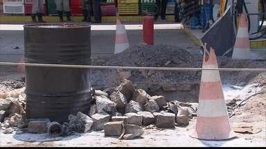 Trabalhador morre em explosão em posto de combustíveis - Homem de 49 anos realizava serviço em tanque de combustível