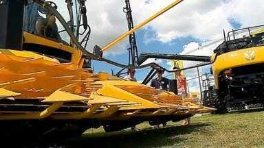 Expodireto movimenta venda de maquinários agrícolas em Não-Me-Toque, RS - Feira espera lucrar mais de R$ 2 milhões.