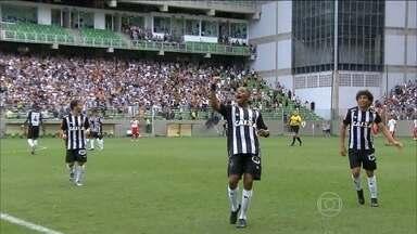Robinho marca três gols na vitória do Atlético-MG por 4 a 1 em cima do Tombense - Robinho já está pensando na próxima partida contra o Colo-Colo do Chile em Santigo, pela Taça Libertadores.
