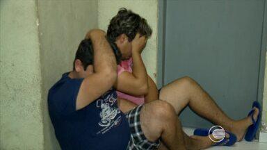 Três homens são presos com 2,5 kg de cocaína pura em Teresina - Três homens são presos com 2,5 kg de cocaína pura em Teresina