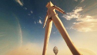 Profissão Repórter - Especial 10 anos - Burning Man - O Burning Man é o principal festival de contracultura do mundo e o Profissão Repórter foi a primeira equipe de TV brasileira a ser autorizada a gravar a experiência que mistura arte, tecnologia e idealismo no meio de um deserto em Nevada, EUA. A repórter Mayara Teixeira registrou esse projeto de sociedade alternativa, que reúne 70 mil pessoas.