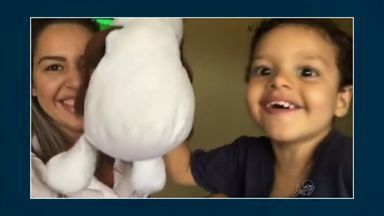 Crianças mandam 'alô' em participação no CETV - Crianças mandam 'alô' em participação no CETV